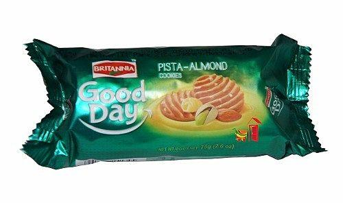 Britannia Good Day Pista Almond Cookies 75GM