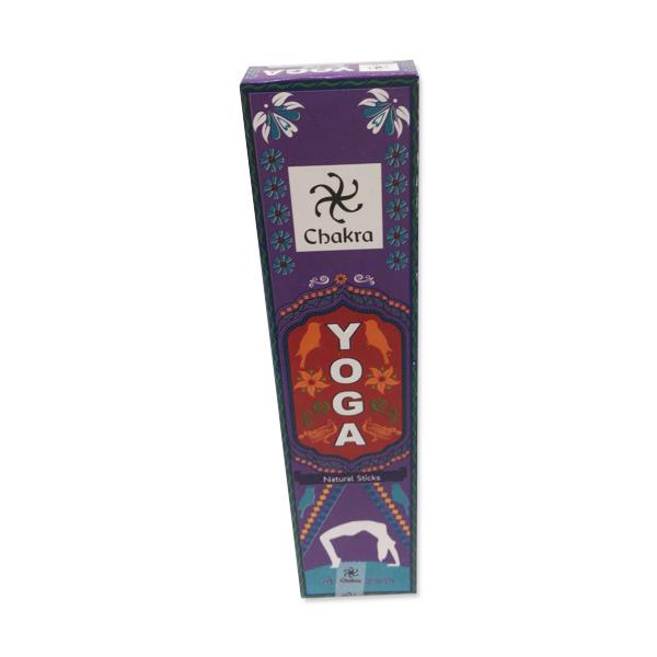 Chakra Yoga Natural Incense Sticks Violet 10 Count