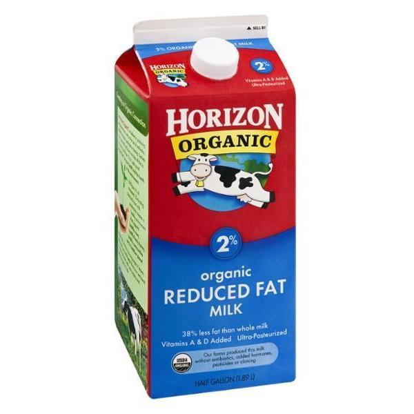 Horizon 2% Organic Reduced Fat 1.89L