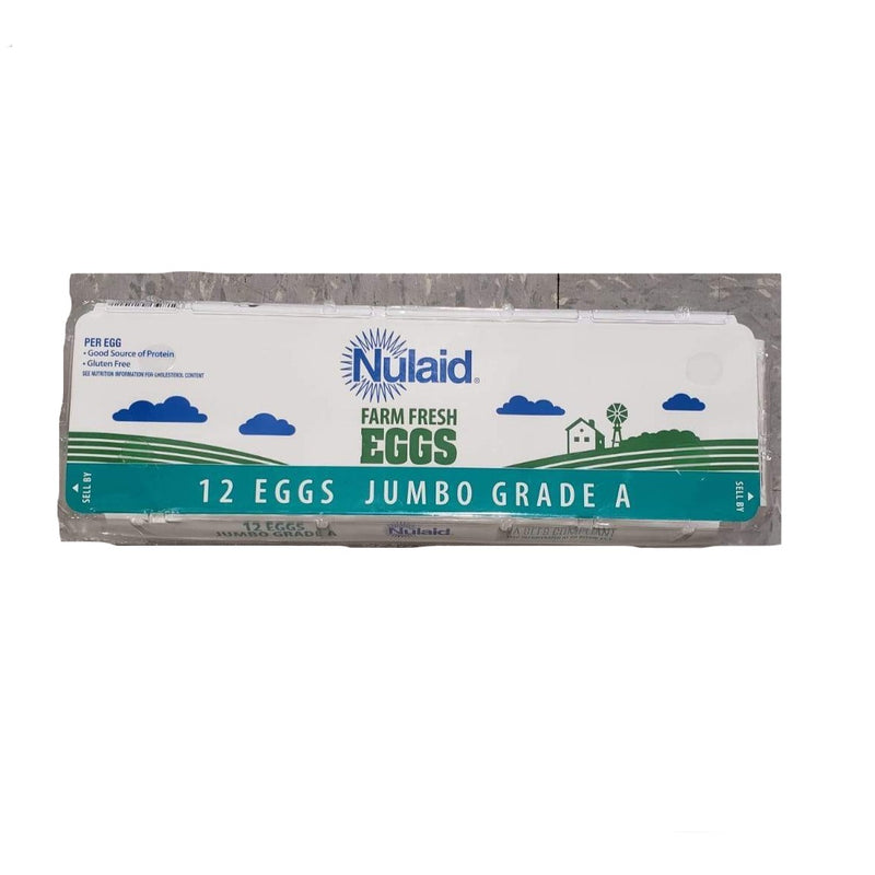 Nulaid Farm Fresh Eggs 12Nos