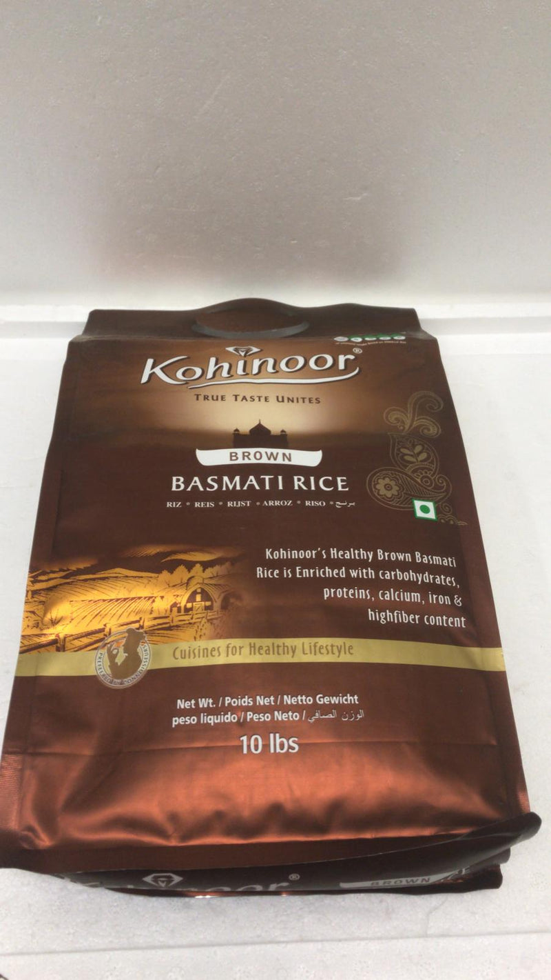 Kohinoor Brown Basmati Rice 10 LBS