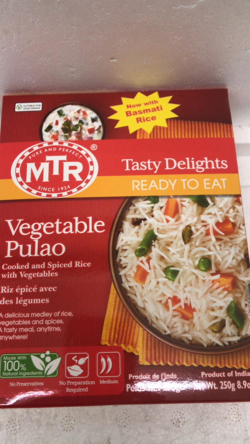 MTR Ready to Eat Vegetable Pulao 250 GM