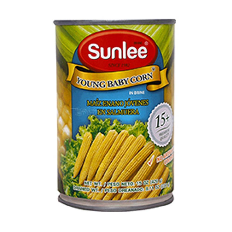 Sunlee Young Baby Corn 420GM