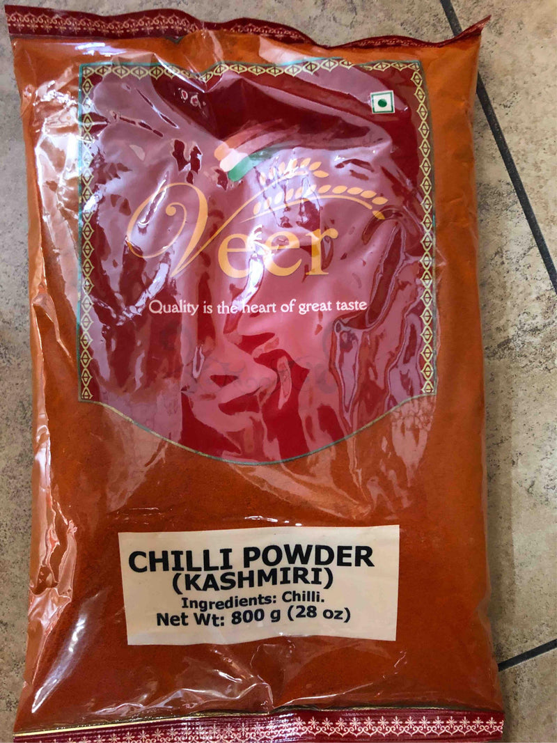 Veer Chilli Powder(Kashmiri) 800GM