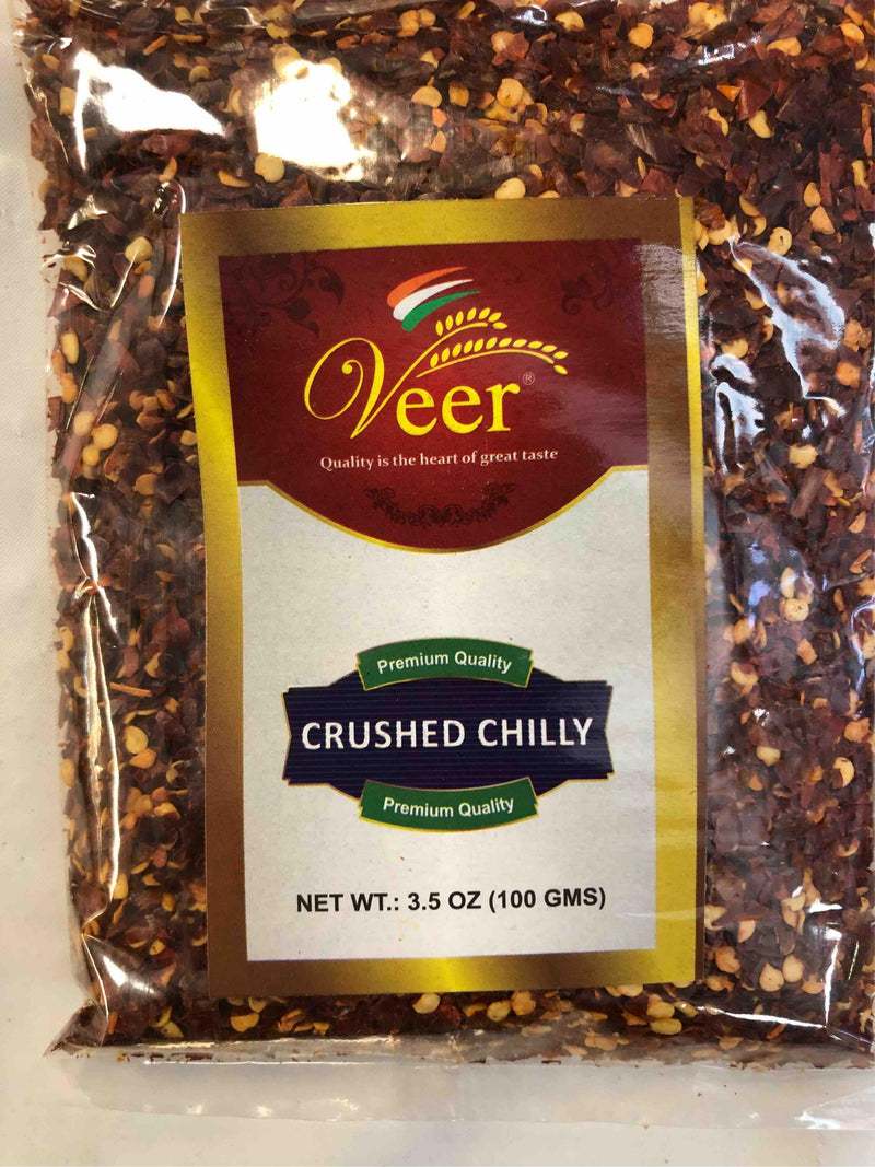 Veer Crushed Chilly 100GM