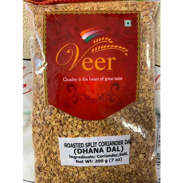 Veer Roasted Split Coriander Dal 200GM