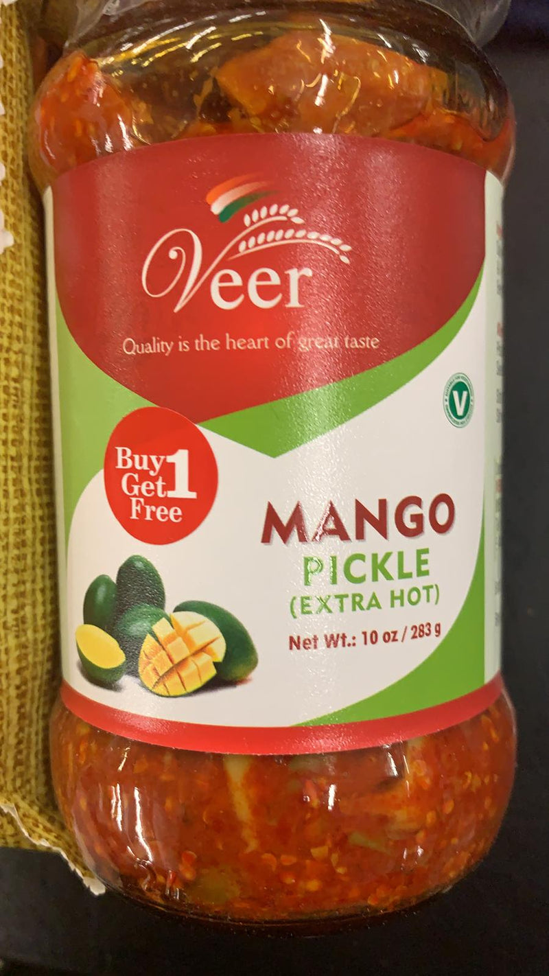 Veer Mango Pickle Extra Hot 283 GM