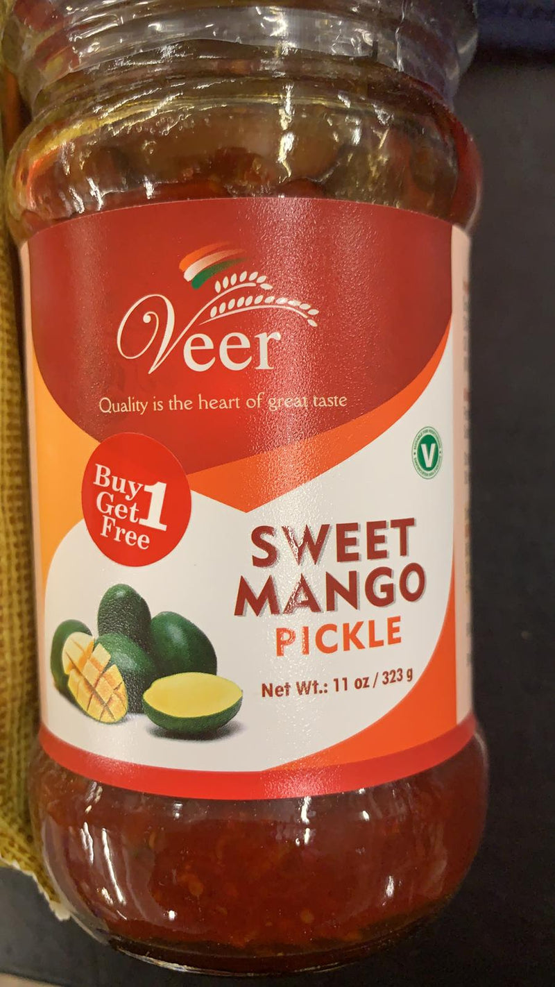 Veer Sweet Mango Pickle 323 GM