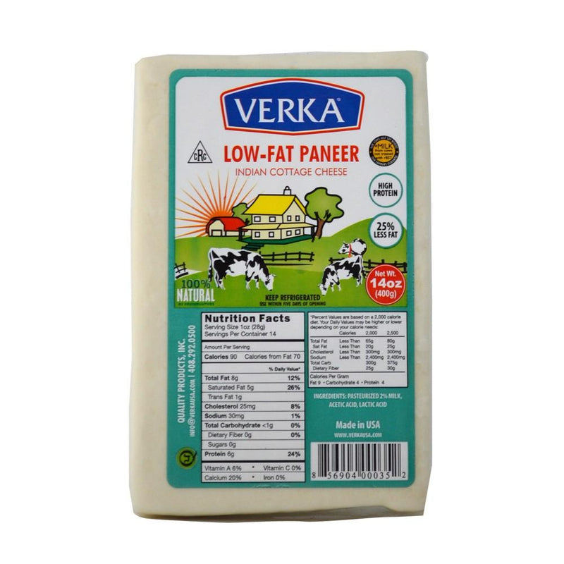 VERKA PANEER 400GM 14OZ