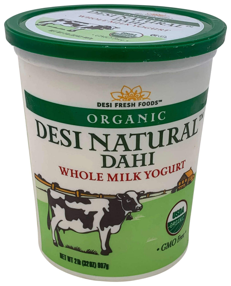 Desi Organic Whole Milk Yogurt 32OZ