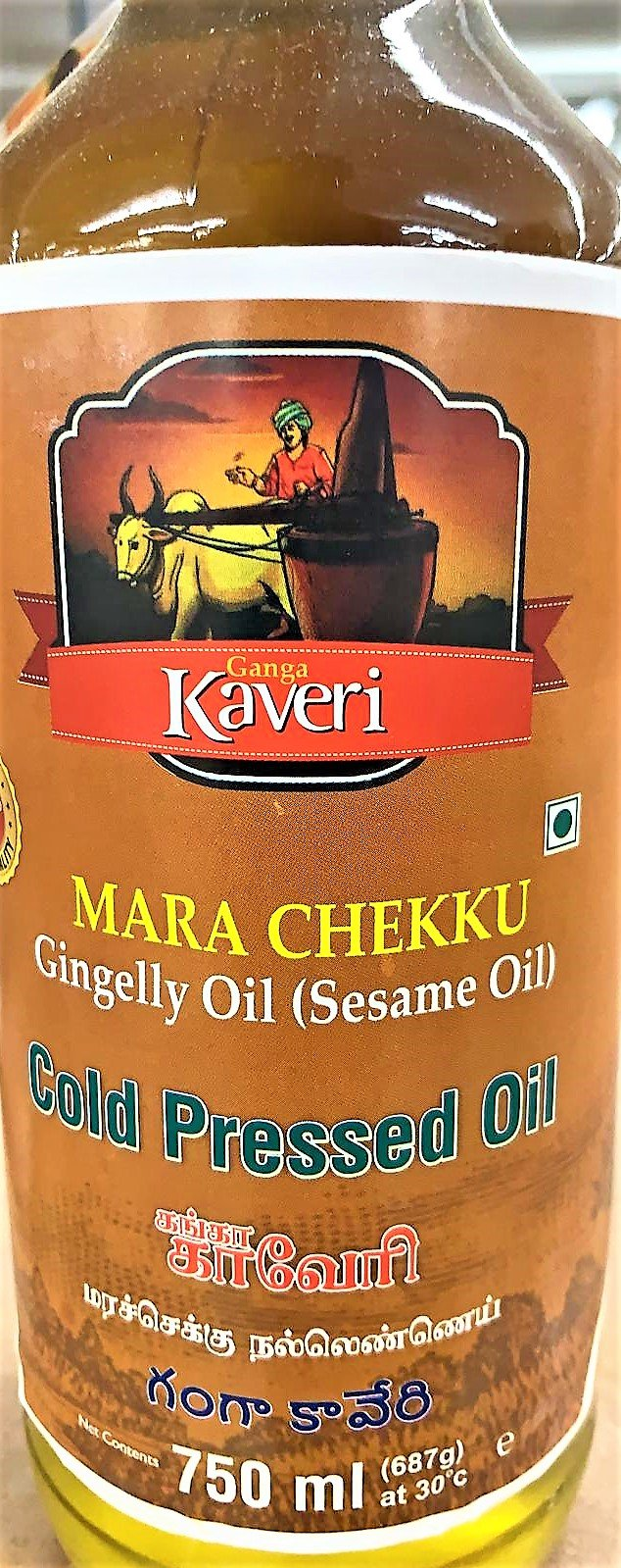 Ganga Kaveri Cold Pressed Sesame Oil 750 ML