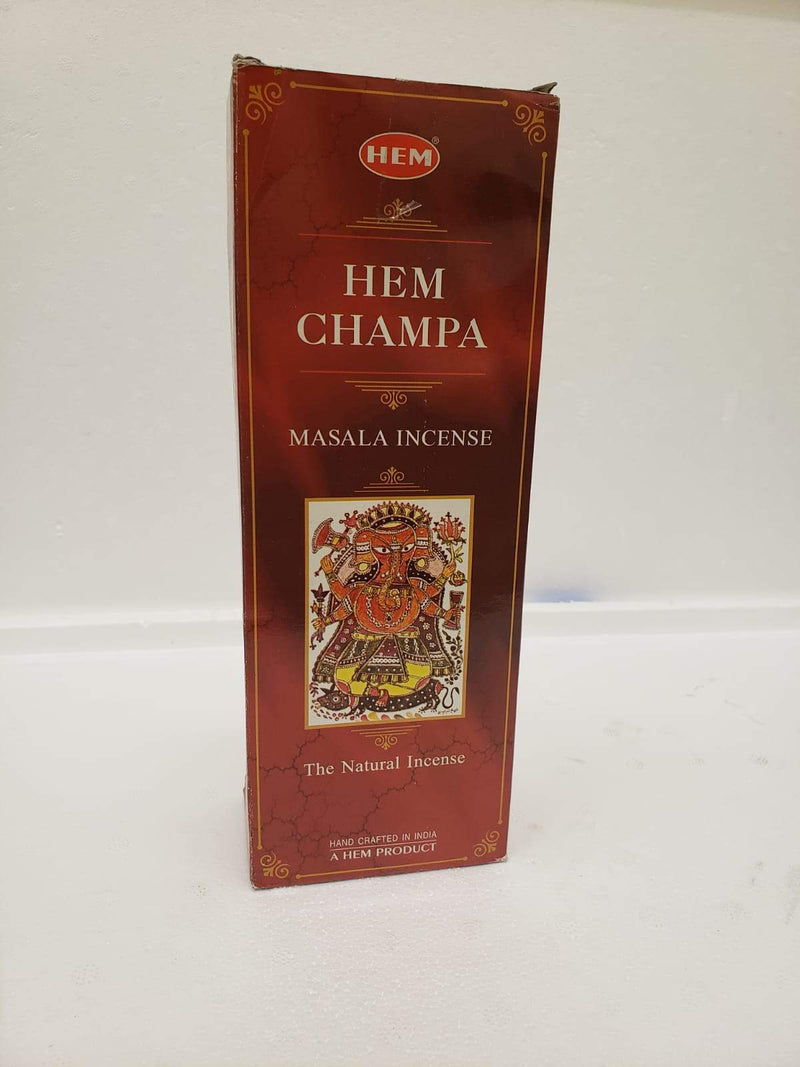 Hem Champa Masala Incense 120 Count