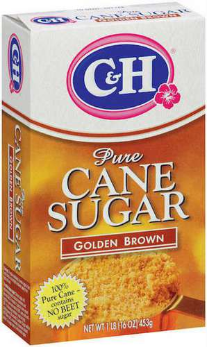 C&H Golden Brown Sugar 1LB