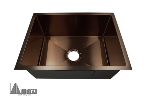 Stainless Steel Handmade Laundry Copper Sink SB2418