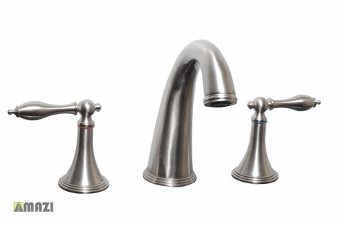 Bathroom Vanity Faucet 096M_Brushed Nickel