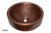 Copper Vessel Sink 1033