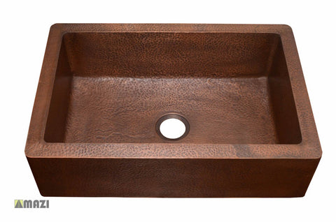 Copper Kitchen Sink 1651_H
