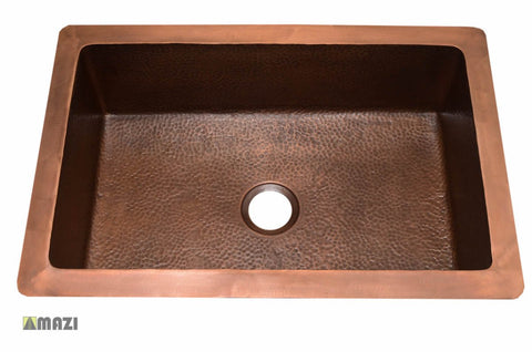 Copper Kitchen Sink 1657_WH