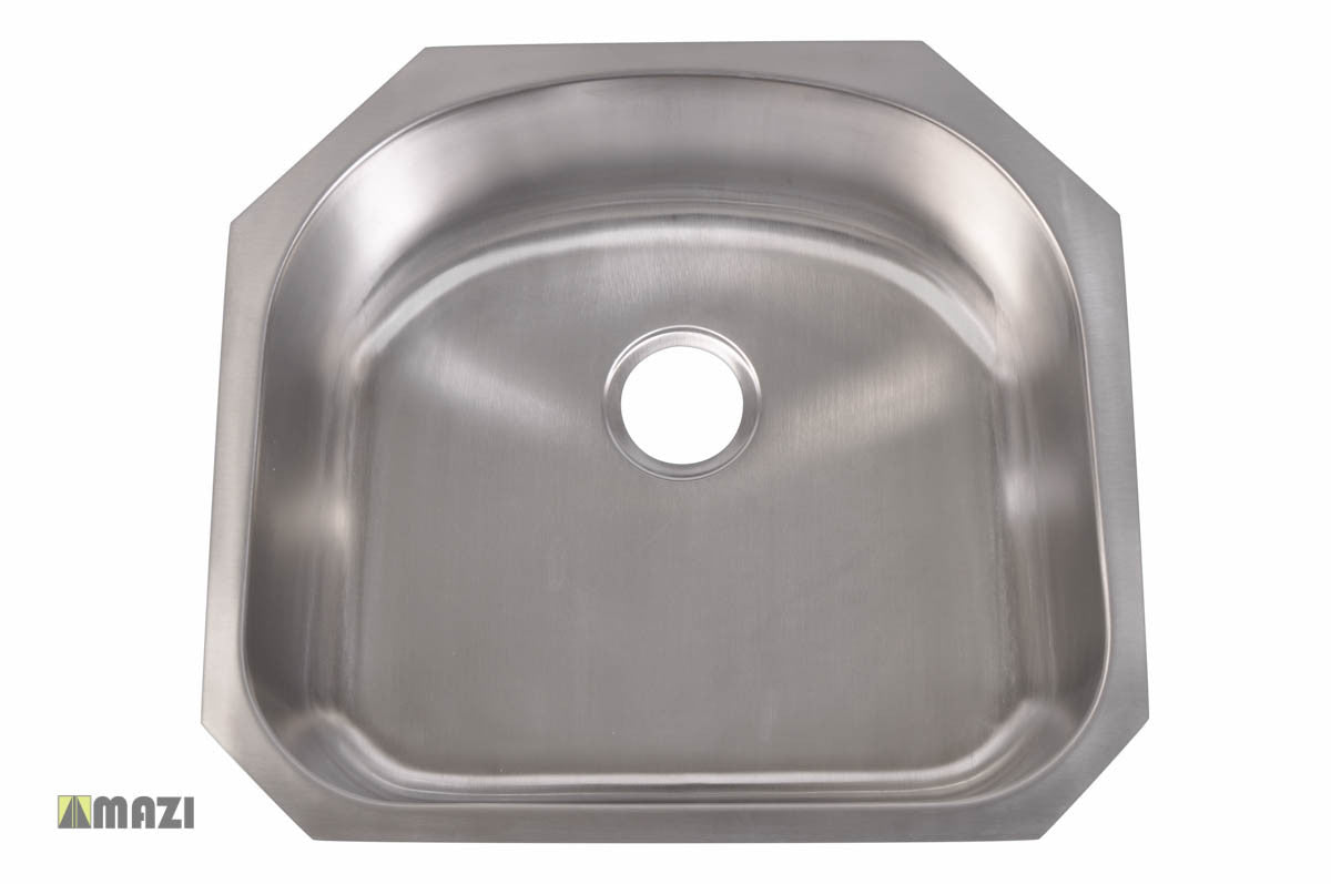 hole laundry blanco in picture horizon of stainless sinks kitchen drop sink single steel bowl