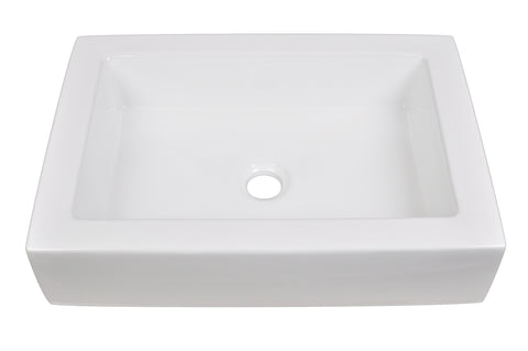 Ceramic Bathroom Sink 6066