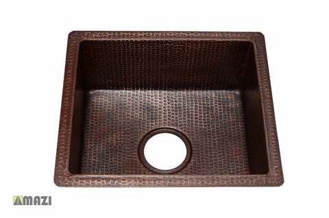 Copper Kitchen Sink CABS1416