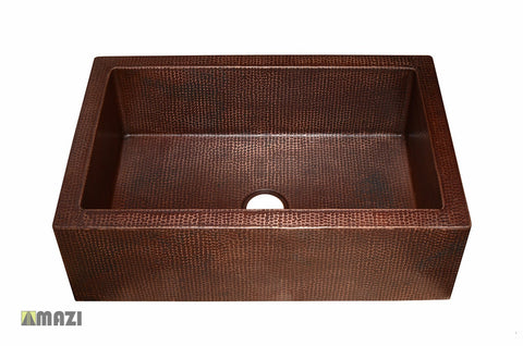 Copper Kitchen Sink CAFKS3322
