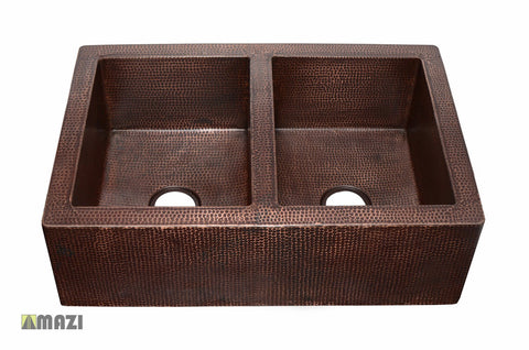 Copper Kitchen Sink CAKS3322