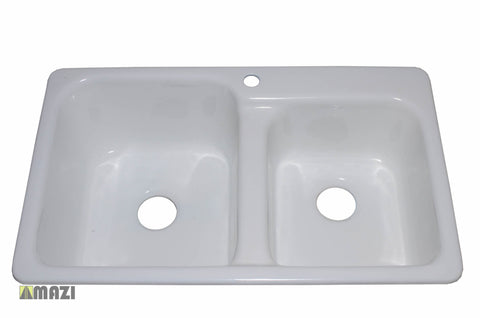 Cast Iron Kitchen Sink CI1409602