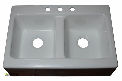 Cast Iron Kitchen Sink CI9354