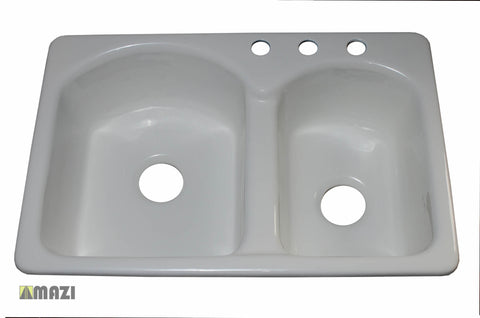 Cast Iron Kitchen Sink CI9603