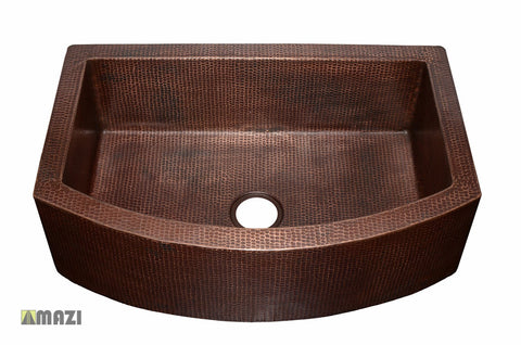 Copper Kitchen Sink CRAKS3322