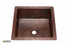 Copper Bathroom Sink CSBS1414