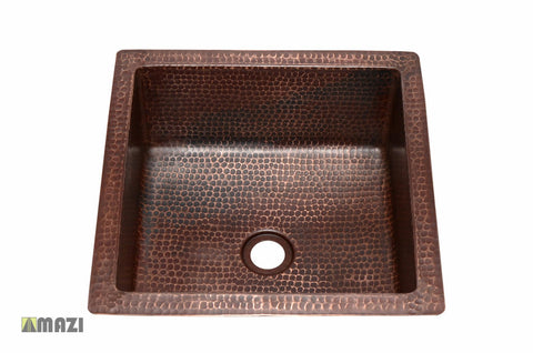 Copper Bathroom Sink CSBS1515