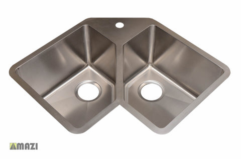 Stainless Steel Handmade Kitchen Sink HA347