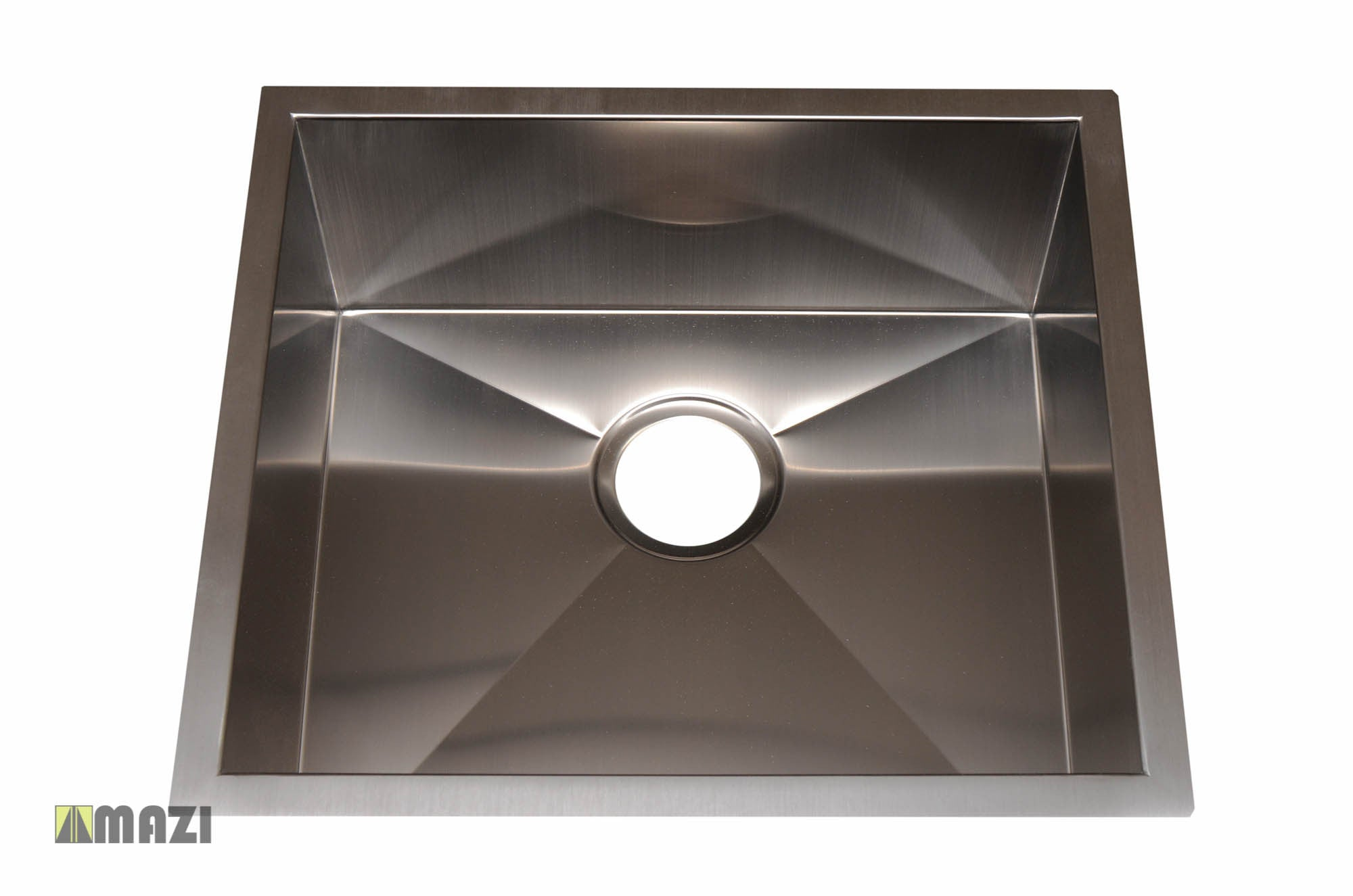Stainless steel handmade kitchen sink hbb1820 tap to expand