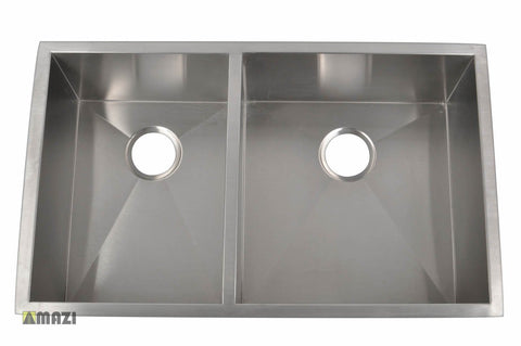 Stainless Steel Handmade Kitchen Sink HBO3320A_R