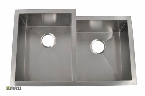 Stainless Steel Handmade Kitchen Sink HBO3320_L