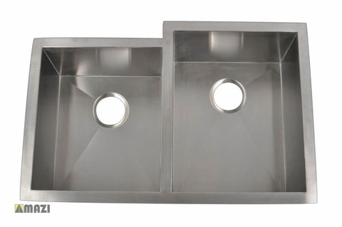 Stainless Steel Handmade Kitchen Sink HBO3320_R