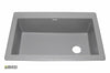 Granite Kitchen Sink IT100S37_Silver