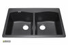Granite Kitchen Sink IT505034_Nero