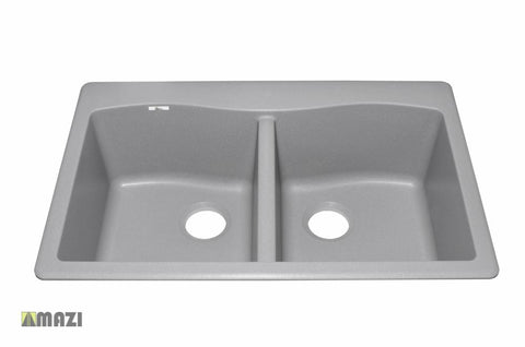 Granite Kitchen Sink IT505037_Silver