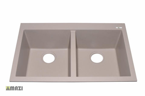 Granite Kitchen Sink IT5050SQ43_Tortora