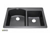 Granite Kitchen Sink IT604034_Nero