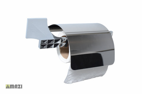 Bathroom Hardware Toilet Paper Holder 415TB_Chrome