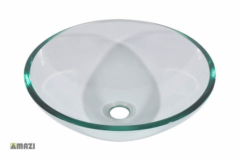 Glass Vessel Bathroom Sink S27