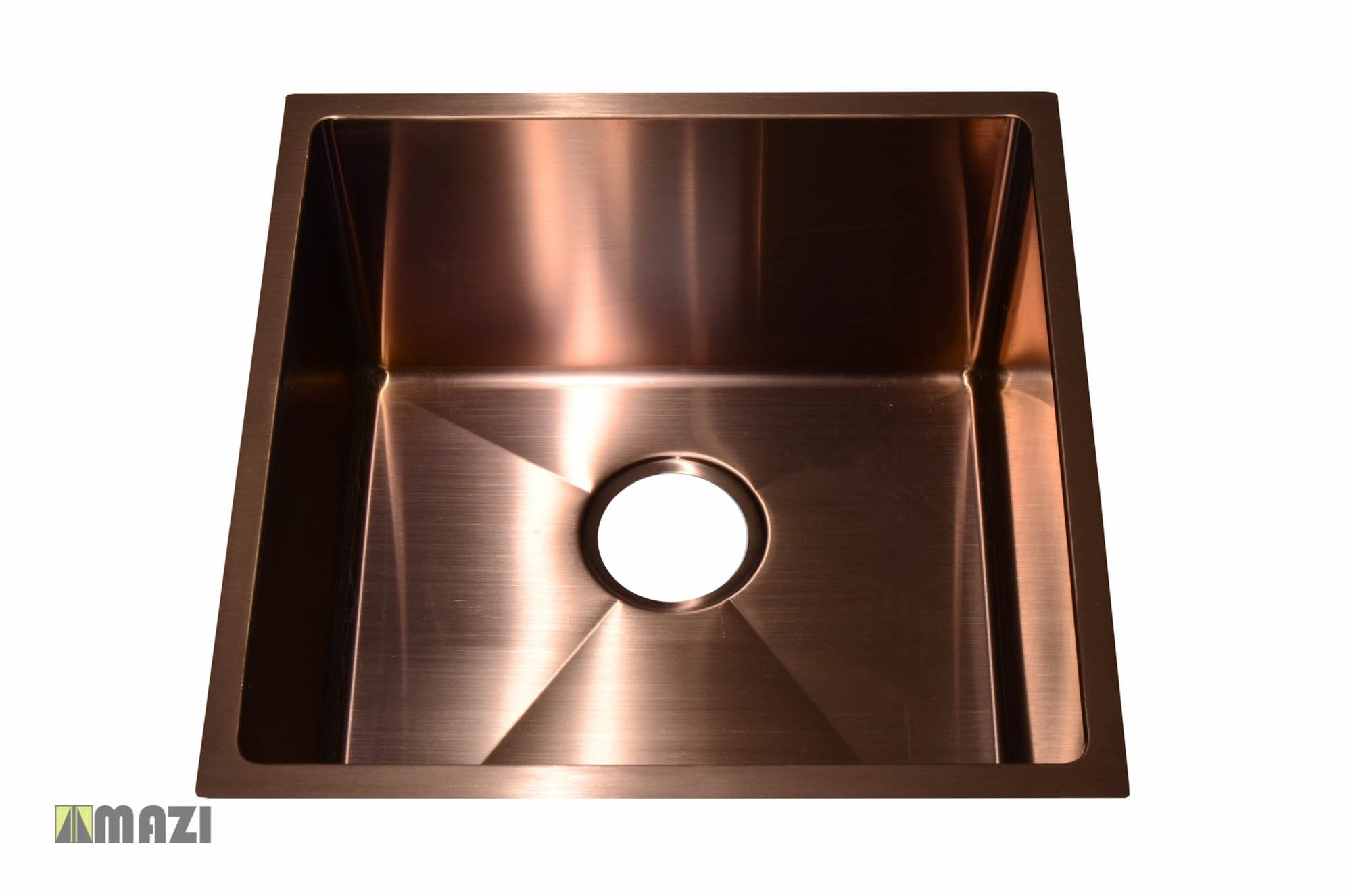 Stainless Steel Handmade Color Kitchen Sink Sb1295 Copper