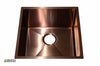 Stainless Steel Handmade Color Kitchen Sink SB1295 Copper Color