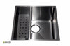 Stainless Steel Handmade Color Kitchen Sink SB1295 Gun Metal Color