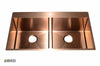 Stainless Steel Handmade Color Kitchen Sink SB3121 Copper Color