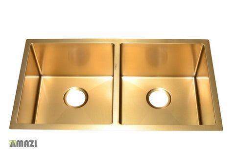Stainless Steel Handmade Color Kitchen Sink SB3121 Gold Color